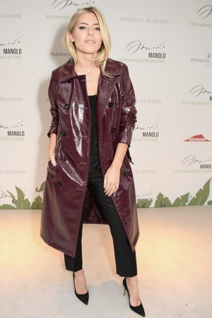 Mollie King attends Manolo VIP Screening London Fashion Week