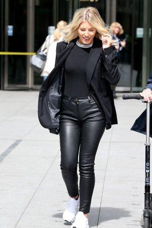 Mollie King leaving BBC Radio One studios - London 25.04.2019
