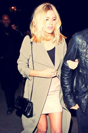 Mollie King night out in London