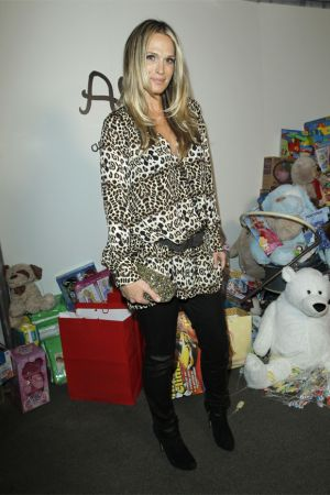 Molly Sims Alice Olivia By Stacey Bendet holiday party for Baby Buggy
