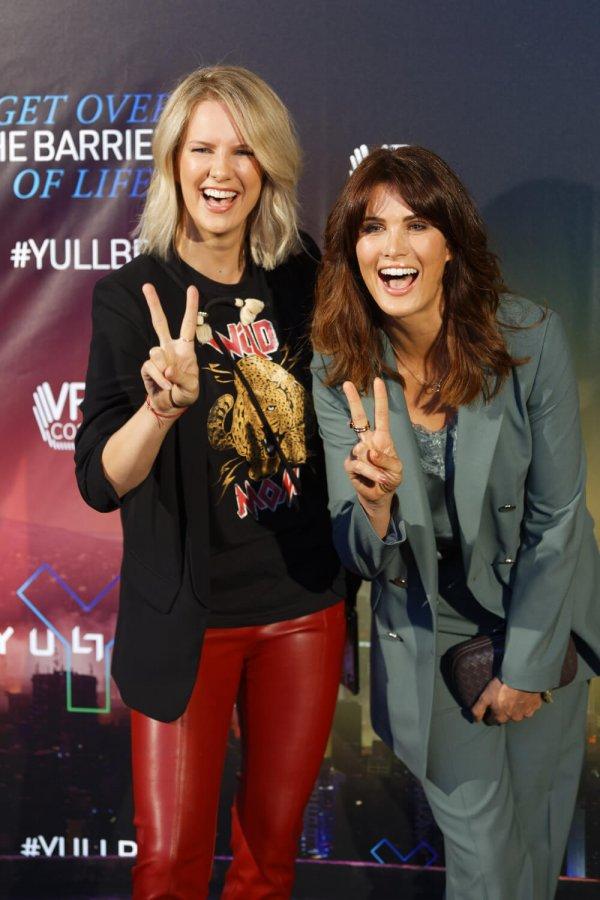 """Monica Ivancan at Eroffnung von YULLBE """"Traumatica"""""""