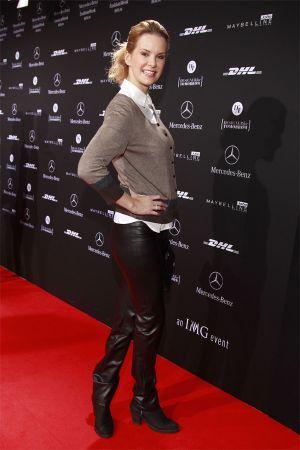 Monica Ivancan  at Fashion Week Berlin