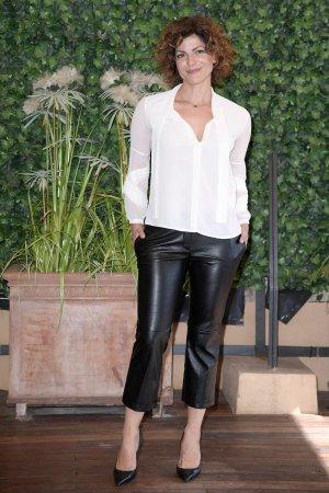 Monica Nappo attends Sirene film photocall