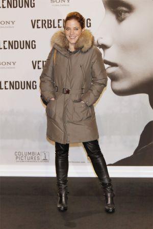 Muriel Baumeister Deutschland-Premiere Verblendung in Berlin