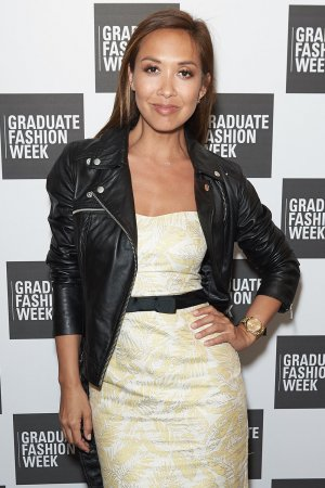 Myleene Klass attends Graduate Fashion Awards