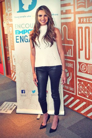Nadine Coyle attends Anti Bullying event at Facebook HQ