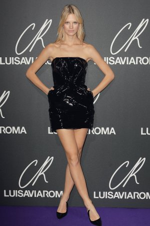Nadine Leopold attends Launch of the CR Fashion Book Issue 13