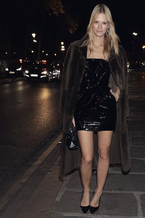 Nadine Leopold is seen out in Paris