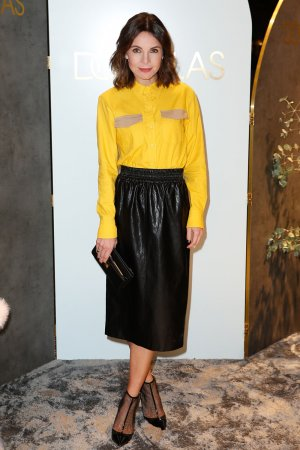 Nadine Warmuth attends Douglas Flagship Store Opening
