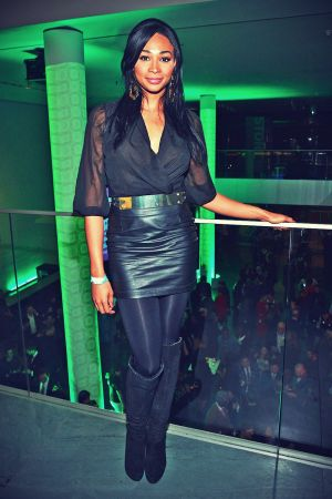 Nana Meriwether attends The Armory Party at MOMA