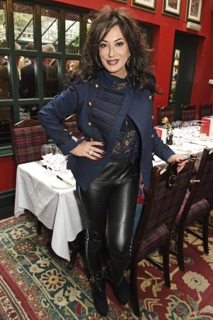 Nancy Dell Olio attends Boisdale Life Magazine's inaugural 'Editors Lunch'
