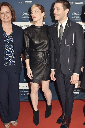 Nancy Grant attends Juste La Fin Du Monde Paris Premiere At MK2 Bibliotheque