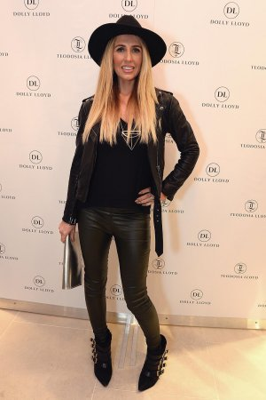 Naomi Isted attends the Dolly Lloyd London boutique launch