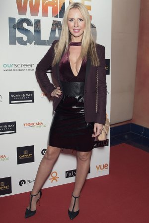 Naomi Isted attends the film premiere of White Island