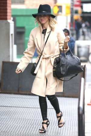 Naomi Watts was spotted in New York City