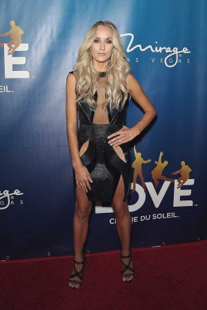 Nastia Liukin attends the 10th anniversary celebration of The Beatles LOVE