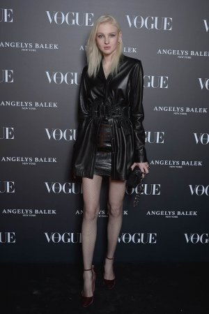 Nastya Sten arrives at the Vogue Thailand & Angelys Balek Cocktail & Dinner