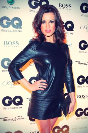 Natalia Avelon at GQ premiere