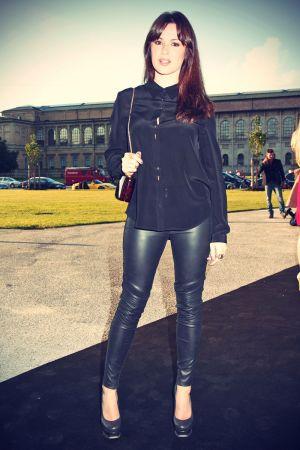 Natalia Avelon attends Porsche Design Fashionshow