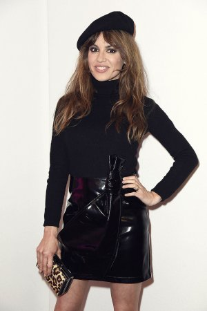 Natalia Avelon during the Gianni Versace Retrospective opening