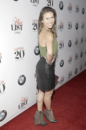 Natalia Castellanos attends Latina's 20th Anniversary celebrating The Hollywood Hot List
