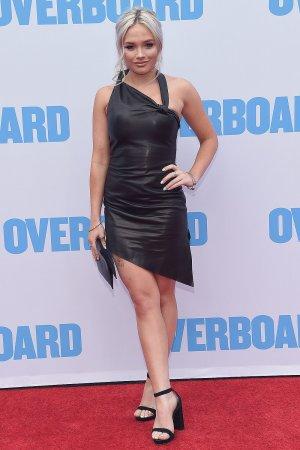 Natalie Alyn Lind attends Overboard premiere