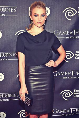 Natalie Dormer attends the Game Of Thrones Exhibition