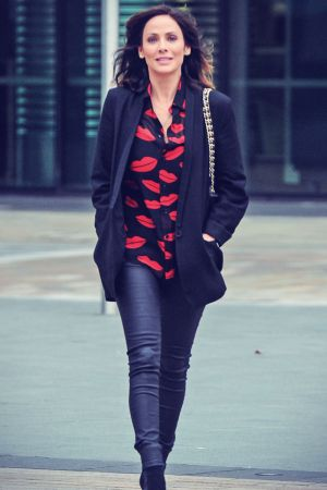 Natalie Imbruglia arrives at BBC Breakfast studios