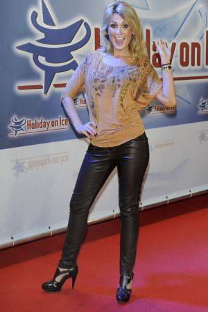 Natalie Lange at Gala Premiere Holiday on Ice in Berlin