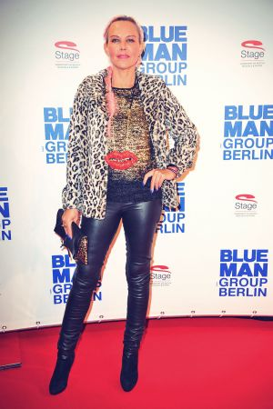 Natascha Ochsenknecht attends Blue Man Group Premiere