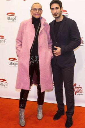 Natascha Ochsenknecht attends Musical Kinky Boots Deutschland-Premiere