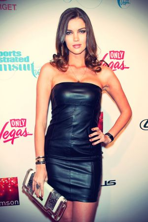 Natasha Barnard attends 2013 Sports Illustrated Swimsuit Launch Party