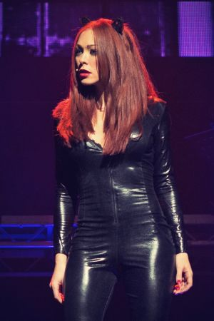 Natasha Hamilton On stage in RENT