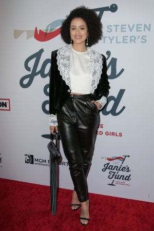 Nathalie Emmanuel at the 3rd Annual Steven Tyler GRAMMY Viewing Party