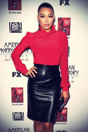 Naya Rivera at Premiere of FXs American Horror Story: Asylum