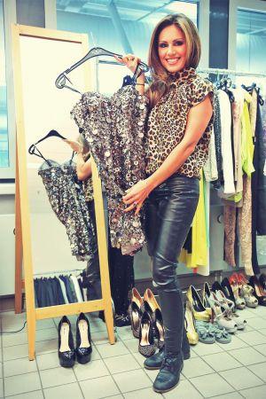 Nazan Eckes at DSDS Backstage