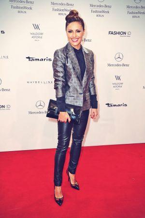 Nazan Eckes attends Kilian Kerner Fashion Show