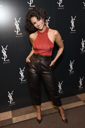 Nazanin Mandi attends the YSL Beauty Club Party