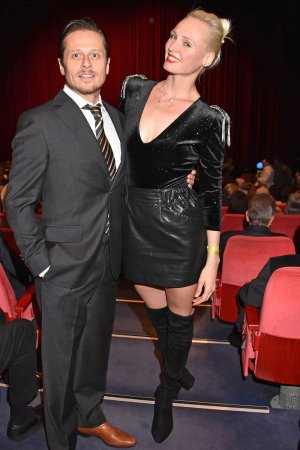 Nele Hermann attends Premiere 'That's Life - das Sinatra-Musical'