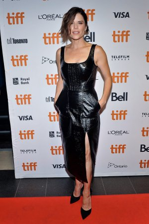 Neve Campbell attends Castle In The Ground Premiere