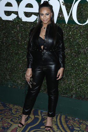 Nia Sioux attends Teen Vogue's 2019 Young Hollywood Party