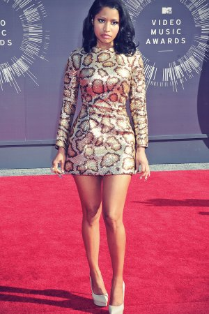 Nicki Minaj attends 2014 MTV Video Music Awards