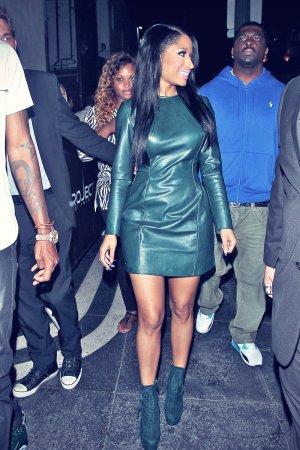 Nicki Minaj attends MTV Music Awards afterparty