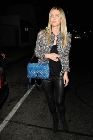 Nicky Hilton at Dan Tana's restaurant