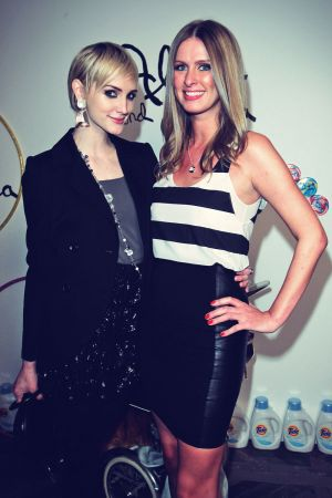 Nicky Hilton attends Alice plus Olivia by Stacey Bendet Holiday Party