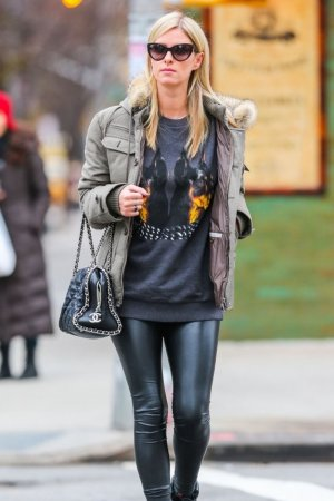 Nicky Hilton spotted out and about in New York City