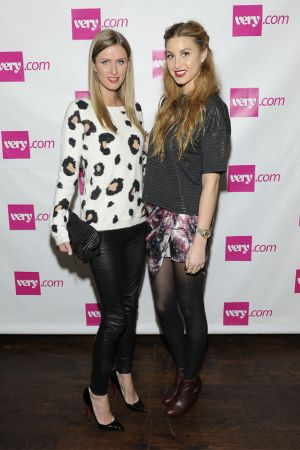 Nicky Hilton with Whitney Port attend the Very.com NY launch
