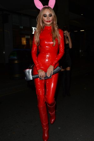 Nicola Hughes attends Hallowzeem at M Restaurant