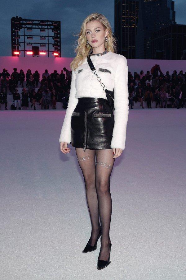 Nicola Peltz attends Alexander Wang June 2018 fashion show
