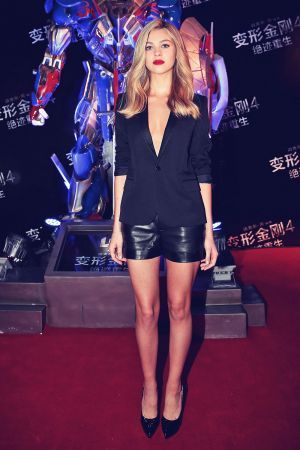 Nicola Peltz attends Transformers Age of Extinction premiere